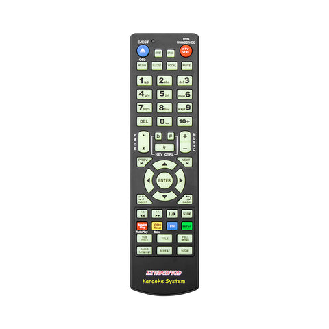 Image of Remote control for 8806/8807/8812 KTV system(50keys)