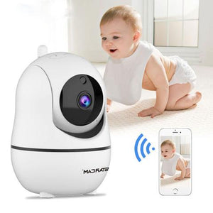 DIGITBLUE HD 1080P Cloud IP Camera | WiFi Wireless Baby Monitor | Home Security Surveillance Camera | Night Vision |Auto Tracking CCTV Network | Mini Cam