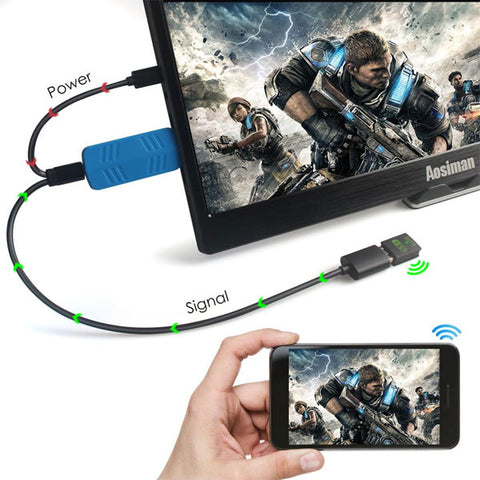DIGITBLUE® HDMI Wireless Display Cast for Smart phone |  Wifi HDMI Adapter Connector | Dongle | Support Airplay, Digitblue