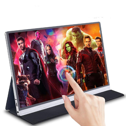 Image of 15.6 4K Touch Screen Monitor | IPS HDR Gaming Monitor | Portable Monitor | for PS4 Xbox Switch Huawei Samsung Phone Laptop PC