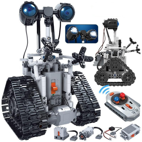 DIGITBLUE® 408PCS City Creative RC Robot Electric Building Blocks Technic Remote Control Intelligent Robot Bricks Toys For Children