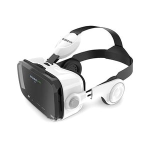 DIGITBLUE Original Leather 3D VR Glasses | Cardboard Helmet Virtual Reality VR Glasses | Headset Stereo Box VR Glasses | For 4-6  Inch  Mobile Phone