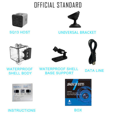 DIGITBLUE Mini Cam WIFI Camera | FULL HD 1080P Night Vision Camera | Waterproof Shell Recorder Camcorder| CMOS Sensor Recorder Camcorder