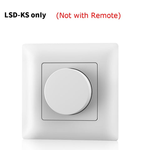 DIGITBLUE® Ultrathin Touch Slide RF 2.4G Remote Controller Smart Home Work with V1 V2 V3KS S1 S1-B single color dual color RGB LED lighting