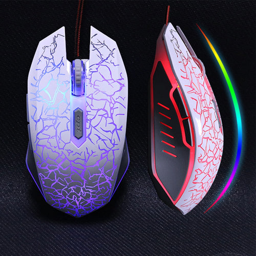 ZUOYA USB Optical Wired Gaming Mouse mice for Computer PC Laptop Pro Gamer Mouse Dota 2/ LOL  black/ white