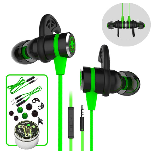 G20 hammerhead Stereo Bass Computer headphones with microphone Magnetic Gaming Headset Noise Cancelling Earphone for phone Sport