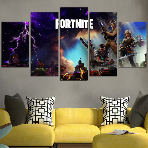 Fortnite Wall Art Canvas
