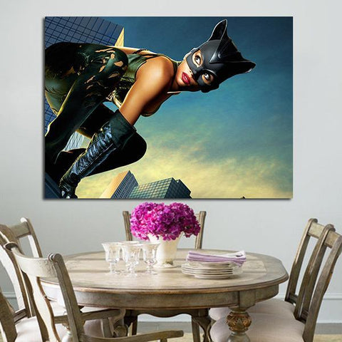 1 Panel Catwoman In 2004 Wall Art Canvas