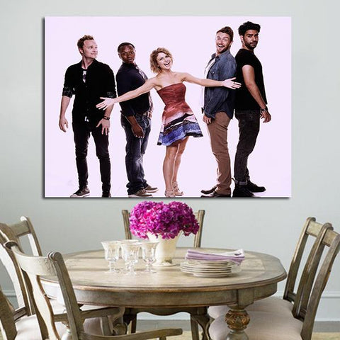 1 Panel Characters In iZombie Wall Art Canvas