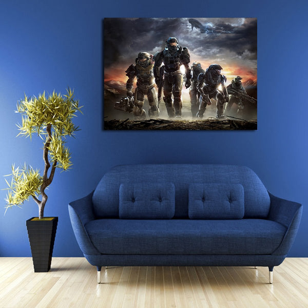 Halo Reach Wall Art Canvas
