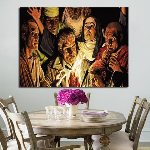 1 Panel Characters In Constantine Wall Art Canvas