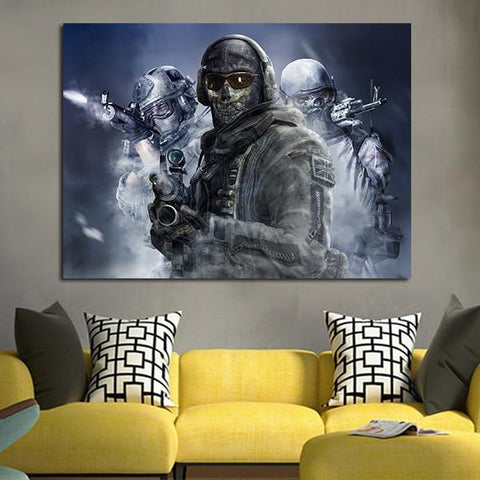 1 Panel Counter Strike Global Offensive Wall Art Canvas