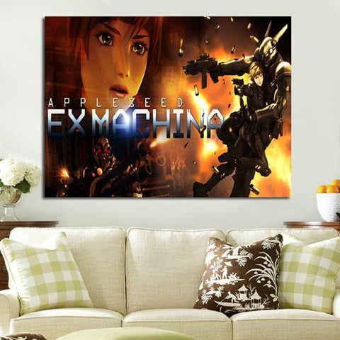 1 Panel Appleseed Ex Machina Wall Art Canvas