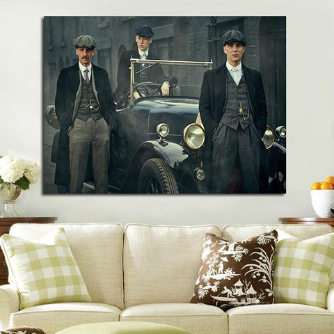 1 Panel Arthur Tommy And John Wall Art Canvas