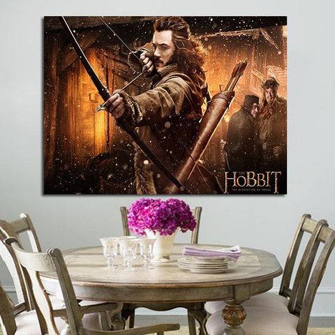 1 Panel Bard In The Desolation Of Smaug Wall Art Canvas