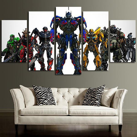5 Panel Wall Art Canvas