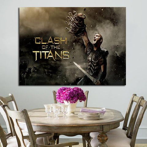 1 Panel Clash Of The Titans Perseus Wall Art Canvas