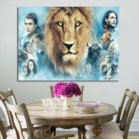 1 Panel Characters In The Chronicles Of Narnia Wall Art Canvas