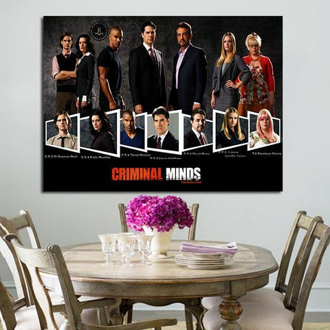 1 Panel Criminal Movie Wall Art Canvas