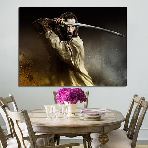 1 Panel 47 Ronin Keanu Reeves Wall Art Canvas