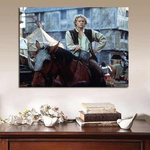 1 Panel A Knight's Tale Heath Ledger William Thatcher Wall Art Canvas