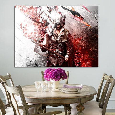 1 Panel Assassin's Creed Posters Wall Art Canvas