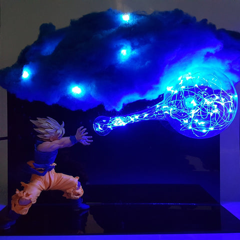 Goku Kamehameha With Cloud Lamp