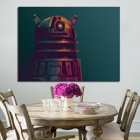 1 Panel Dalek Doctor Who Wall Art Canvas
