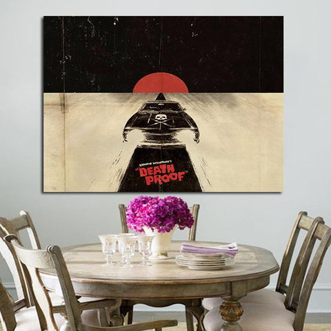 1 Panel Death Proof Wall Art Canvas