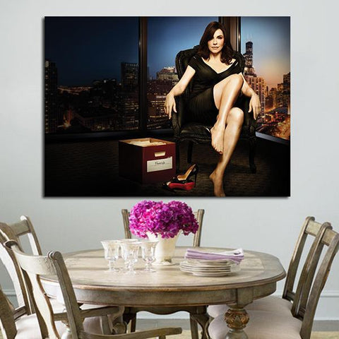 1 Panel Alicia Florrick The Good Wife Wall Art Canvas