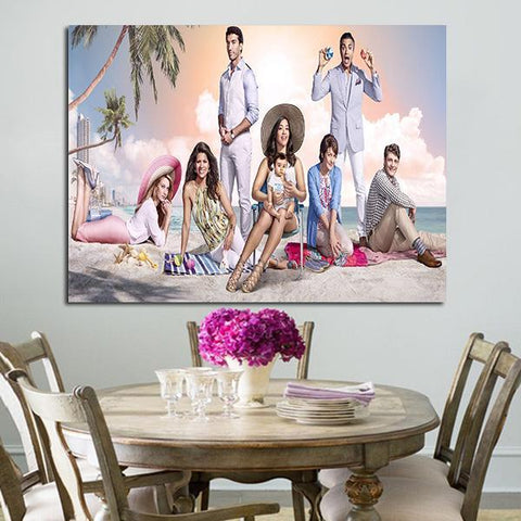 1 Panel Characters Of Jane the Virgin Wall Art Canvas