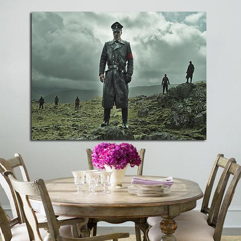 1 Panel Dead Snow 2 Zombies Nazis Wall Art Canvas