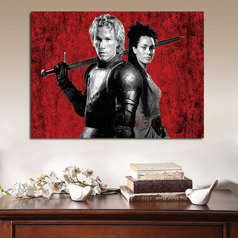 1 Panel A Knight's Tale Poster Wall Art Canvas