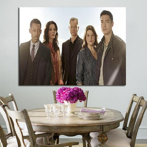 1 Panel Criminal Minds Beyond Borders Wall Art Canvas