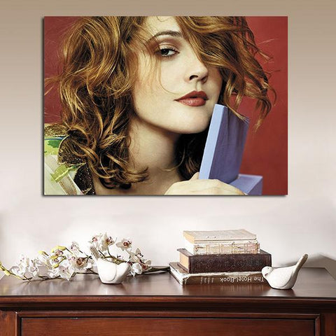 1 Panel 50 First Dates Drew Barrymore Lucy Whitmore Wall Art Canvas