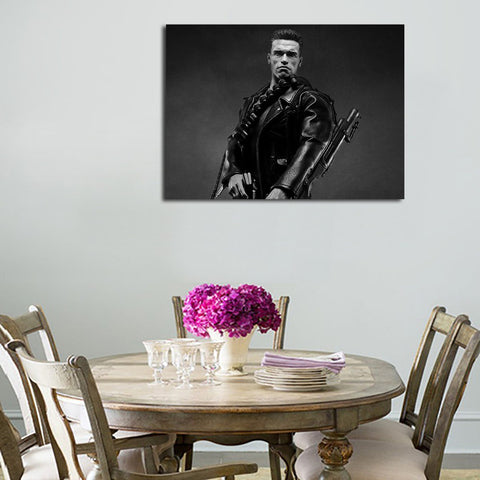 1 Panel Arnold And Weapons Wall Art Canvas