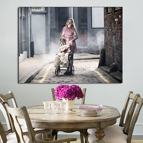 1 Panel Babysit Annabelle In The Annabelle Wall Art Canvas