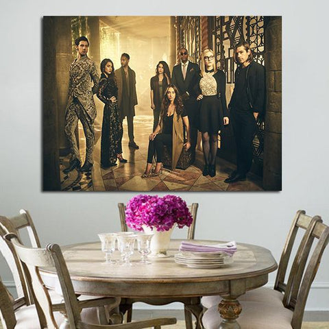 1 Panel Characters In The Magicians Wall Art Canvas
