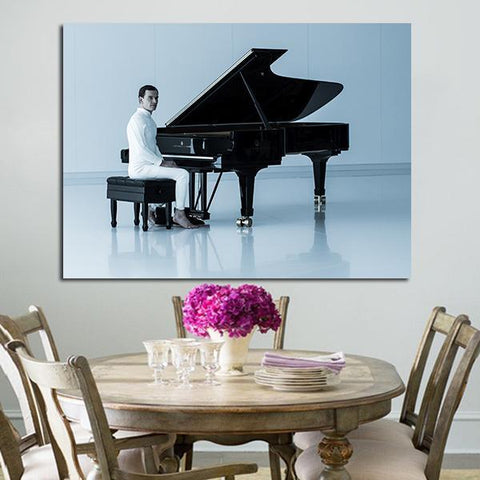 1 Panel Ash And Piano Alien Wall Art Canvas
