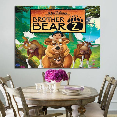 1 Panel Brother Bear 2 Wall Art Canvas