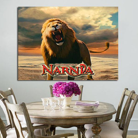 1 Panel Aslan From The Chronicles Of Narnia Wall Art Canvas