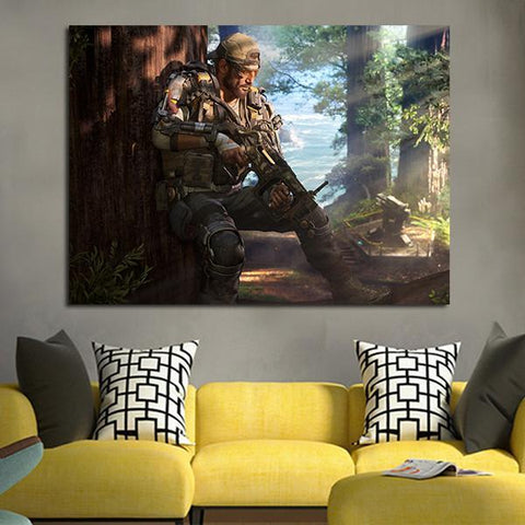 1 Panel Call Of Duty Black Ops III Specialists Wall Art Canvas