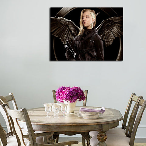 1 Panel Cressida With Wings Wall Art Canvas