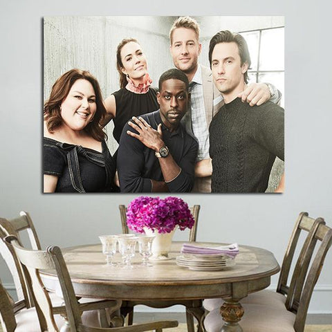 1 Panel Chrissy Metz Sterling And Milo Wall Art Canvas