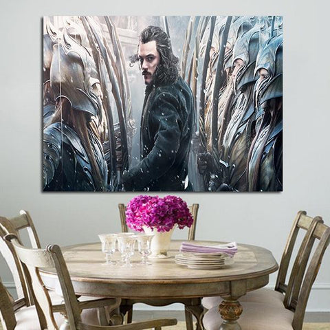 1 Panel Bard In The Battle Of the Five Armies Wall Art Canvas