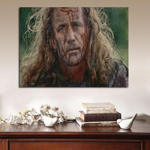 1 Panel Braveheart William Wallace Artwork Wall Art Canvas