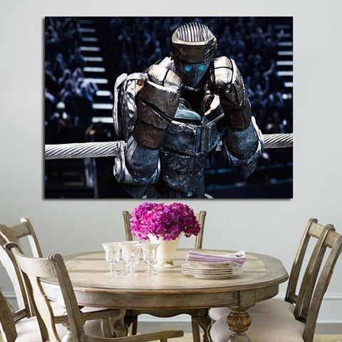 1 Panel Atom Real Steel Wall Art Canvas