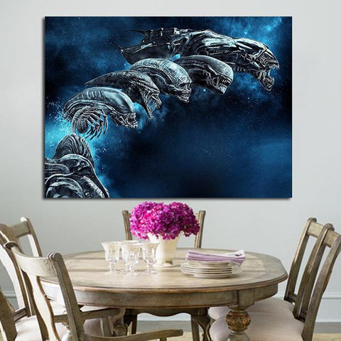 1 Panel Alien Covenant Monsters Wall Art Canvas