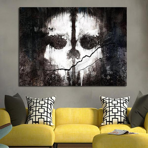 1 Panel Call Of Duty Ghosts Wall Art Canvas