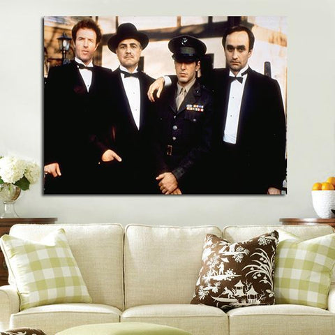 1 Panel Corleone Family Godfather Wall Art Canvas